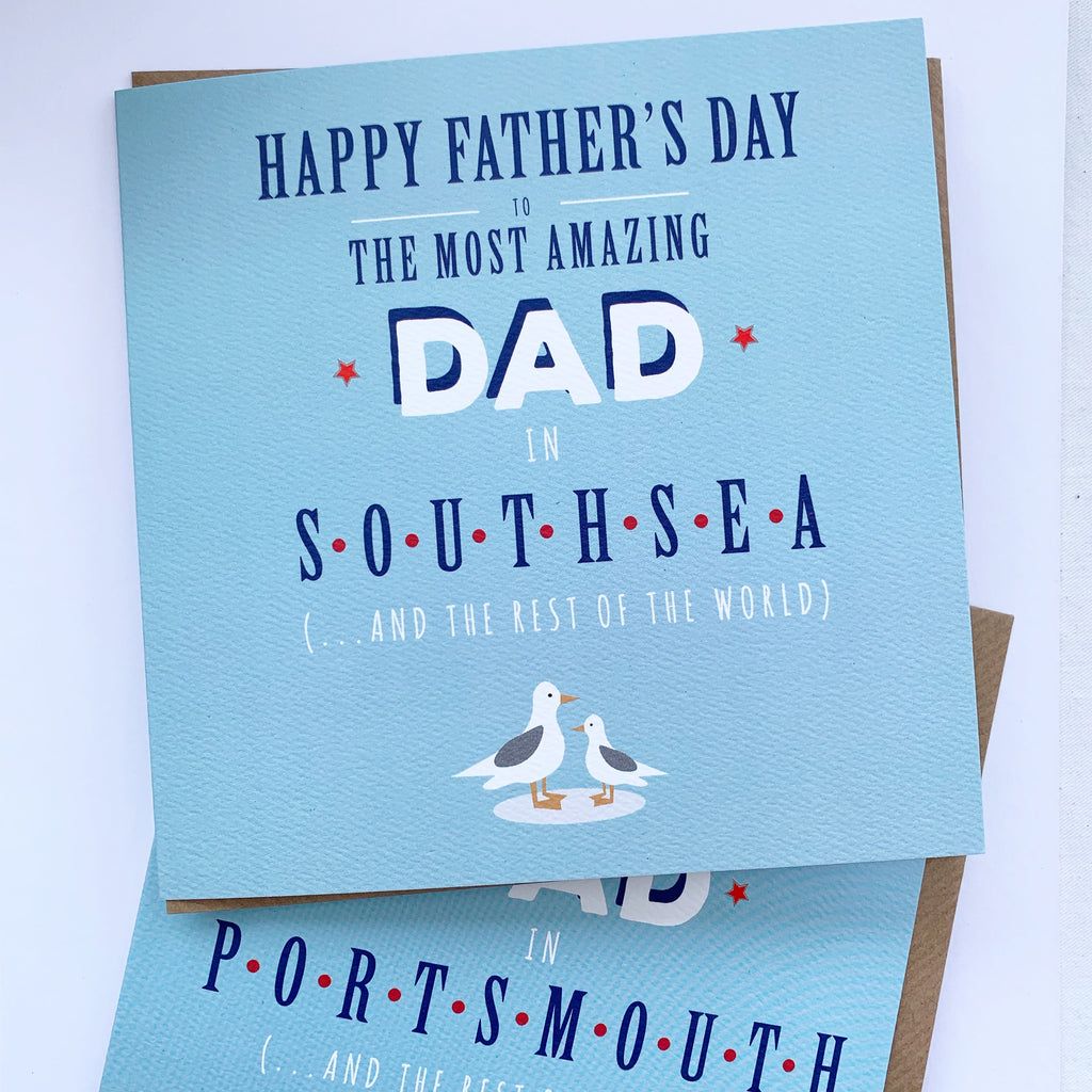 Father's Day Portsmouth Card