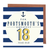 Portsmouth's Greatest 18 Year Old Card