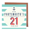 Portsmouth's Greatest 21 Year Old Card
