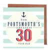 Portsmouth's Greatest 50 Year Old Card