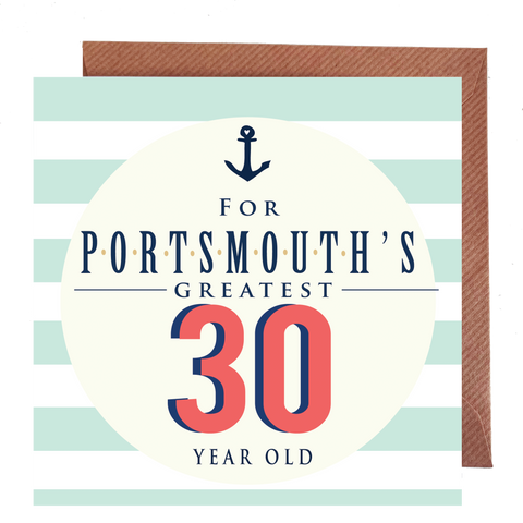 Portsmouth's Greatest 30 Year Old Card