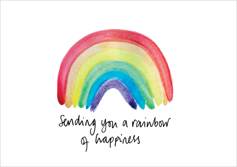 Rainbow of Happiness Print
