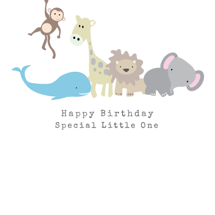 Special Little One Birthday Card