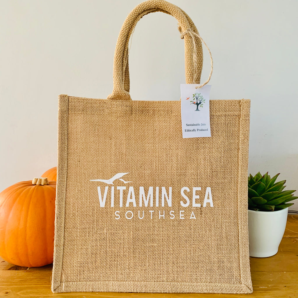 Vitamin Sea Southsea Jute Shopper Bag