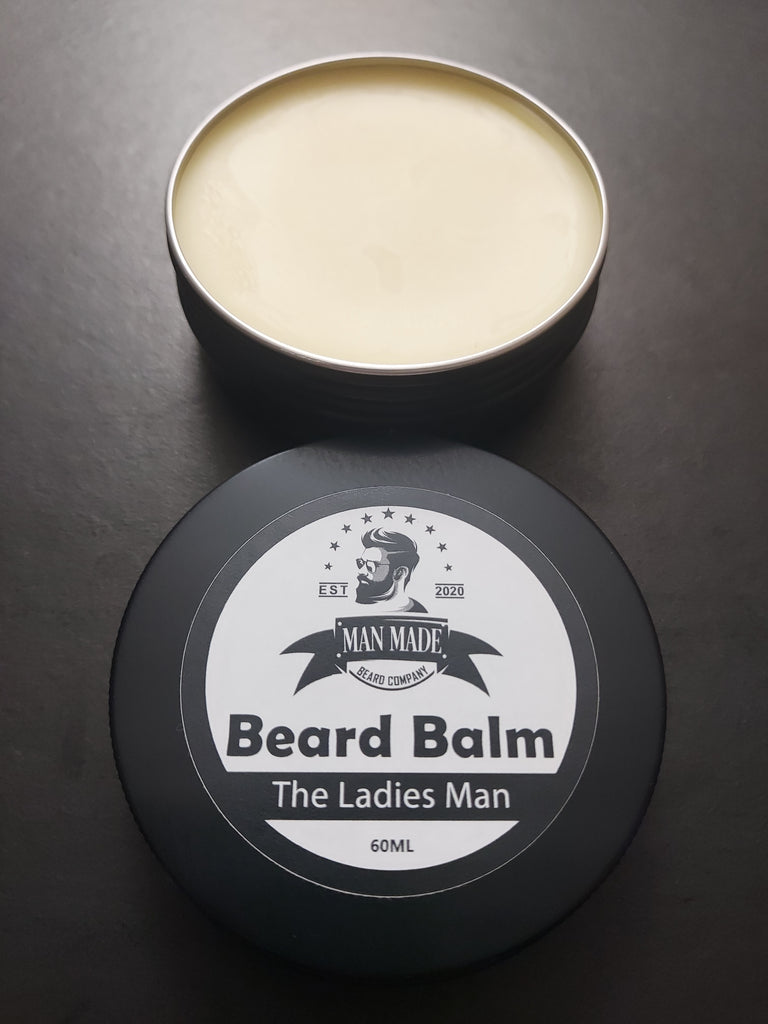 The Ladies Man Beard Balm (60ml Lemongrass & Lavender)