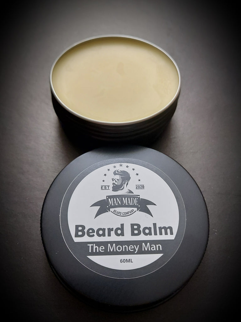 The Money Man Beard Balm (60ml Spearmint & Bergamot)