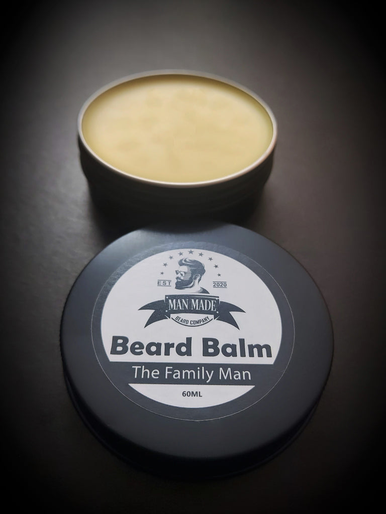The Family Man Beard Balm (60ml Spearmint & Eucalyptus)