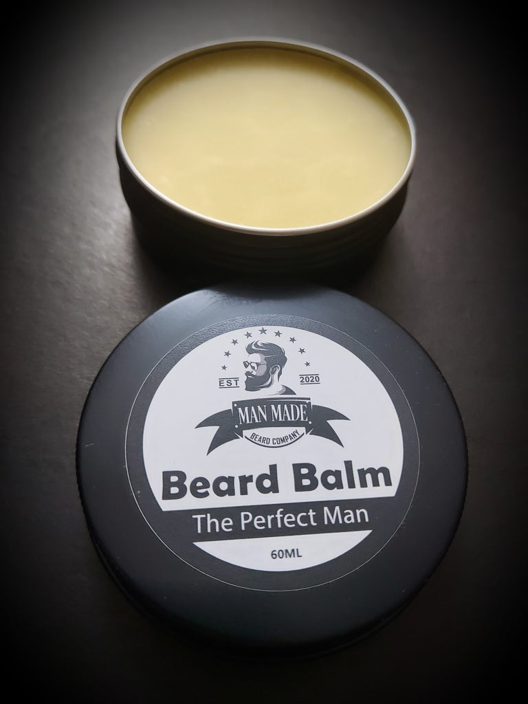 The Perfect Man Beard Balm (60ml Unscented)