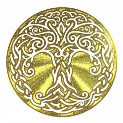 Celtic Tree of Life – small (gold plated) - (ID: sg24)