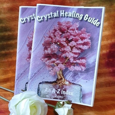 Book – 'Crystal Healing Guide' by Remi - (ID: bc1)