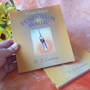 Book – 'A Little Book of Pendulum Magic' by D.J. Conway – (ID: bc4)