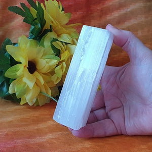 Selenite Rod – large – (ID: crn74)