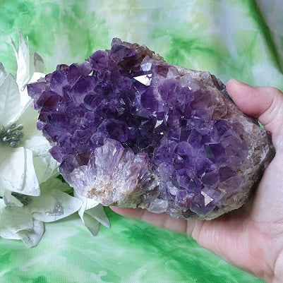 Amethyst Cluster - large – (ID: crn96)