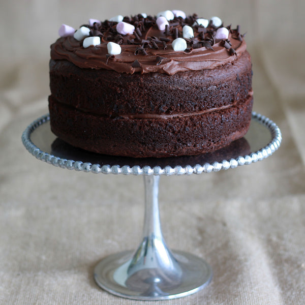 Chocolate Marshmallow Layer Cake
