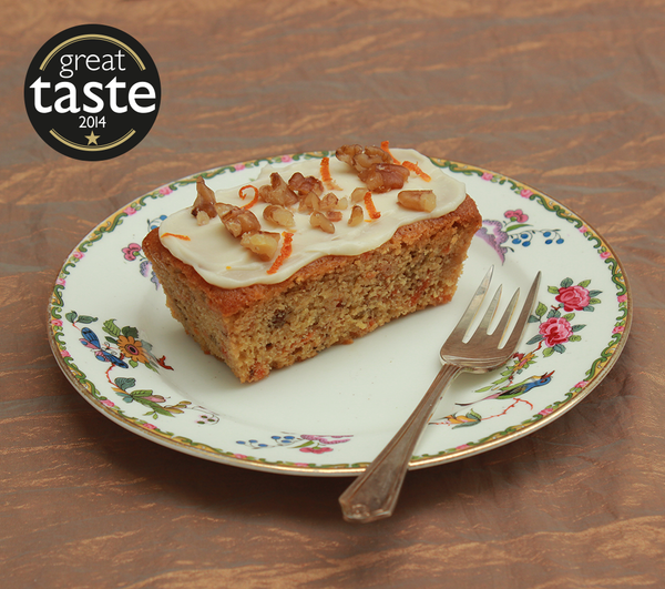 Carrot & Walnut Loaf Cakes - Love at First Bake