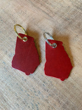 Load image into Gallery viewer, Georgia Leather Keychain