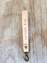Load image into Gallery viewer, Personalized Wristlet Keychain