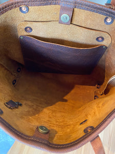 Medium Refined Jenny Tote in Worn Saddle