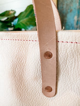 Load image into Gallery viewer, Small Refined Jenny Tote in Natural Veg Tan-Ready to Ship