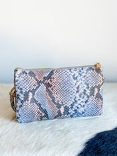 Load image into Gallery viewer, Liz Crossbody in Snake Print