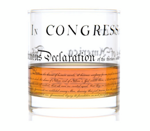Constitution or Declaration Rock Glass