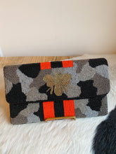 Load image into Gallery viewer, Beaded Clutch Purse