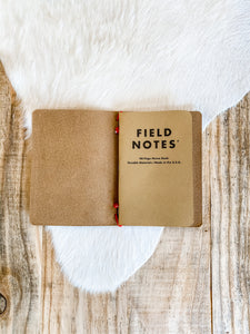 Pocket Notebook-English Tan