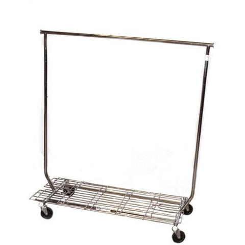 COLLAPSIBLE ROLLING RACK WITH BOTTOM (RENTAL)