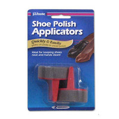 SHOE POLISH APPLICATORS