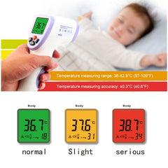 TOUCHLESS INFRARED BODY THERMOMETER