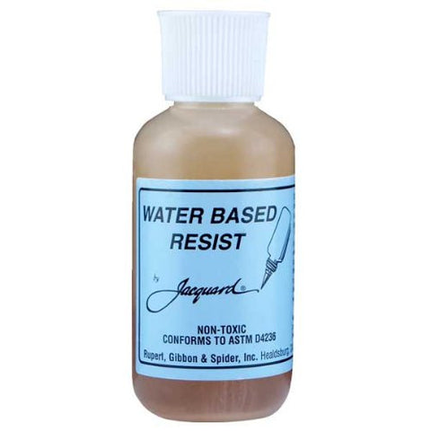 WATER-BASED RESIST