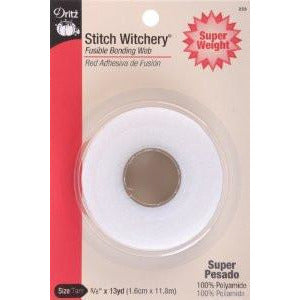 STITCH WITCHERY FUSIBLE BONDING WEB