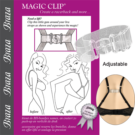 BRAZA: MAGIC CLIP (CLEAR)