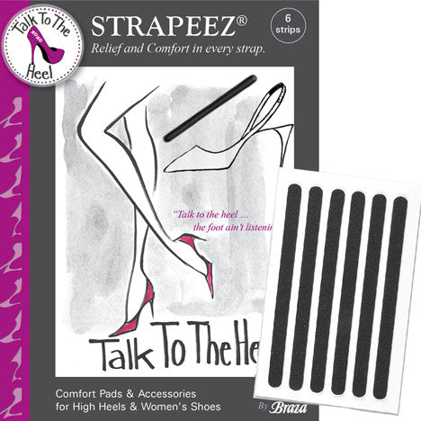 TALK TO THE HEEL: STRAPEEZ STRIPS