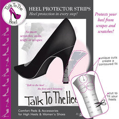 TALK TO THE HEEL: HEEL PROTECTOR STRIPS
