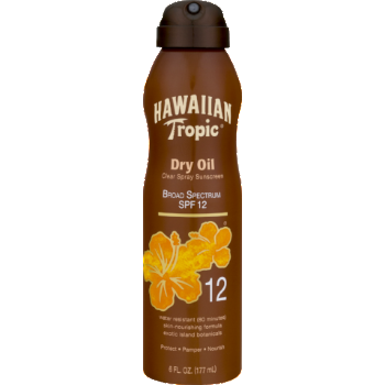 HAWAIIAN TROPIC: DRY OIL SPF 12