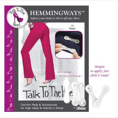 HEMMINGWAYS™ - INSTANT HEM ADJUSTMENT SNAPS
