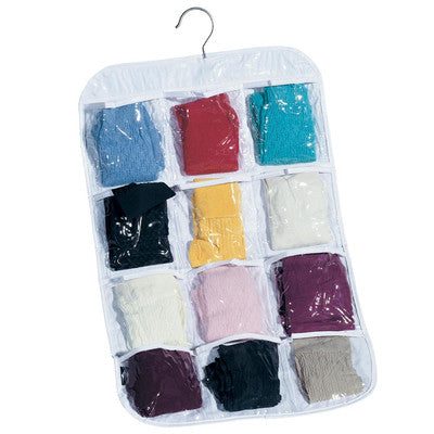 DOUBLE-SIDED STOCKING ORGANIZER