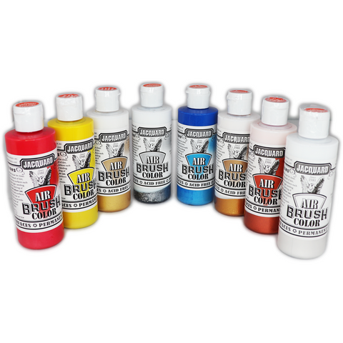 JACQUARD: AIRBRUSH COLOR - METALLIC SERIES