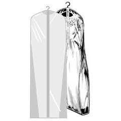 "60"" GUSSET GARMENT BAG"