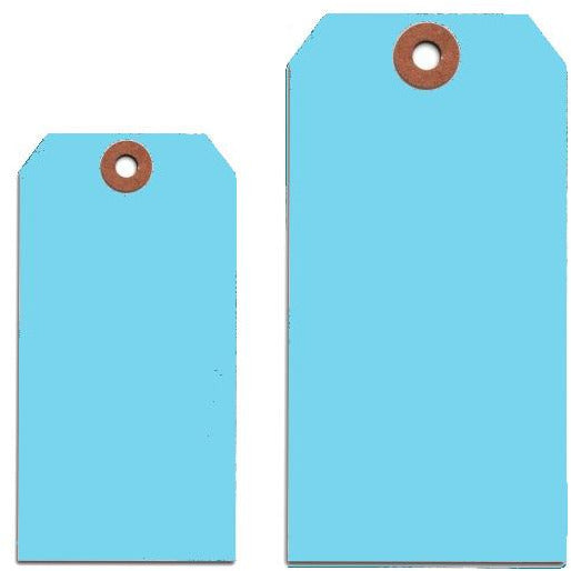 LIGHT BLUE TAGS