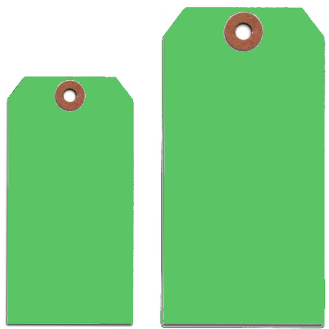 LIGHT GREEN TAGS