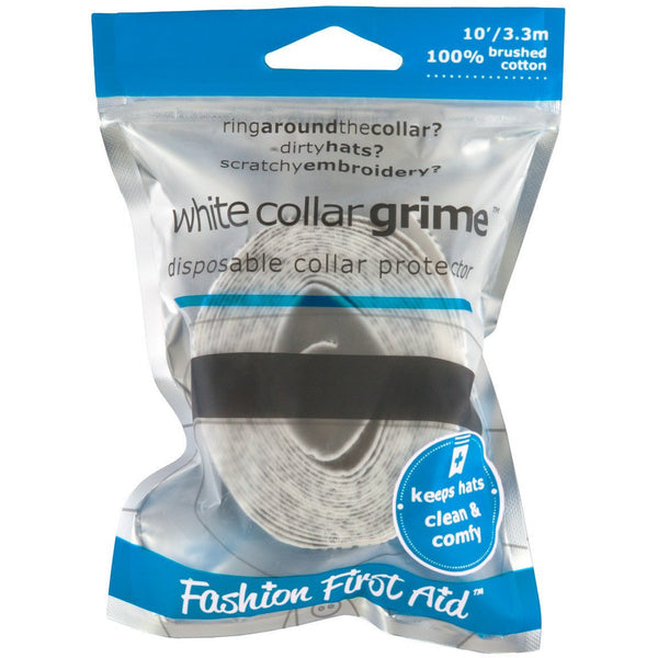 WHITE COLLAR GRIME: ADHESIVE COLLAR & HAT PROTECTORS