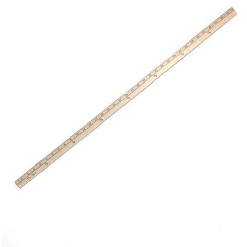 WOODEN YARDSTICK 36""