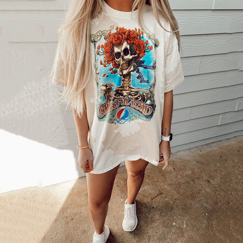 Round neck short sleeve casual cotton tee