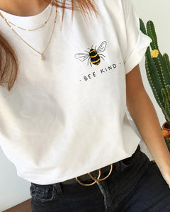 Bee Kind Casual Short Sleeve Tee