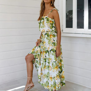 Vacation Bohemian maxi Dress