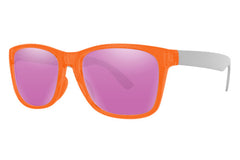Click - Wayfarer - Transparent Orange