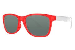 Click - Wayfarer - Transparent Red