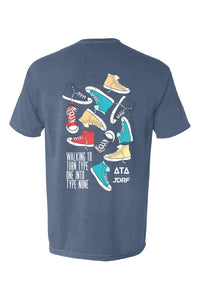 Walking JDRF Pocket Tee